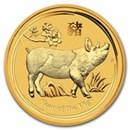 australian-gold-lunar-pig-coins-2019-2007