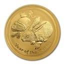australian-gold-lunar-rabbit-coins-2011-1999