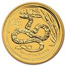 australian-gold-lunar-snake-coins-2013-2001