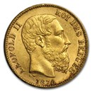 belgium-gold-silver-coins-currency