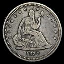 liberty-seated-quarters-1838-1891