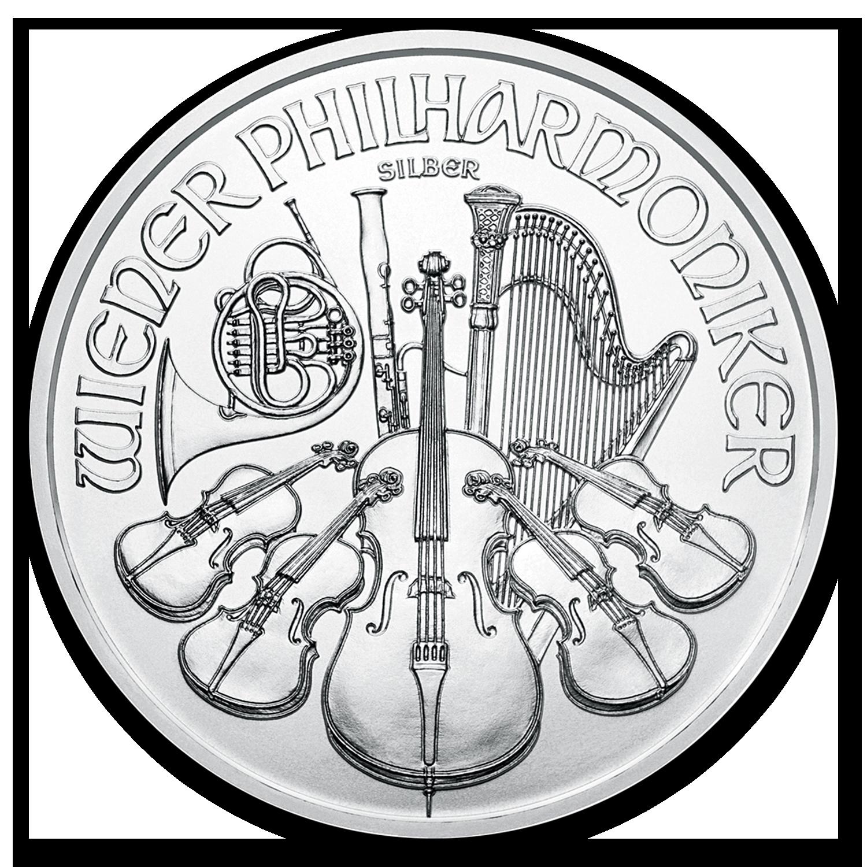 2020 Austria 1 oz Platinum Philharmonic BU SKU#197794