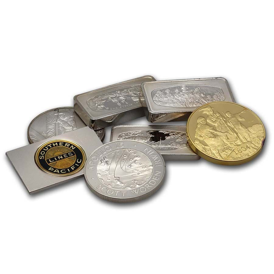 .925 Sterling Silver - Private Mints (Bars and/or Rounds)