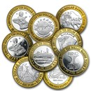 .999 Fine Silver $10 Gaming Token