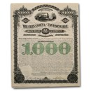 $1,000 Bond - Fernandina & Jacksonville Railroad (E. H. Harriman)