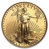 1/10 oz American Gold Eagle BU (Random Year)