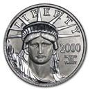 1/10 oz American Platinum Eagle (Random Year, Abrasions)