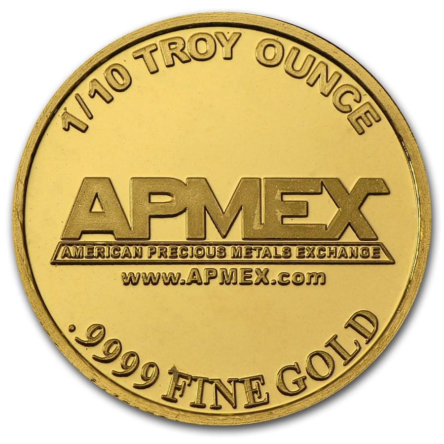 1/10 oz Gold Round - APMEX