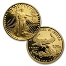 1/10 oz Proof Gold American Eagle (Random Year, Capsule Only)