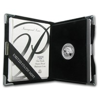1/10 oz Proof Platinum American Eagle (Random Year, w/Box & COA)