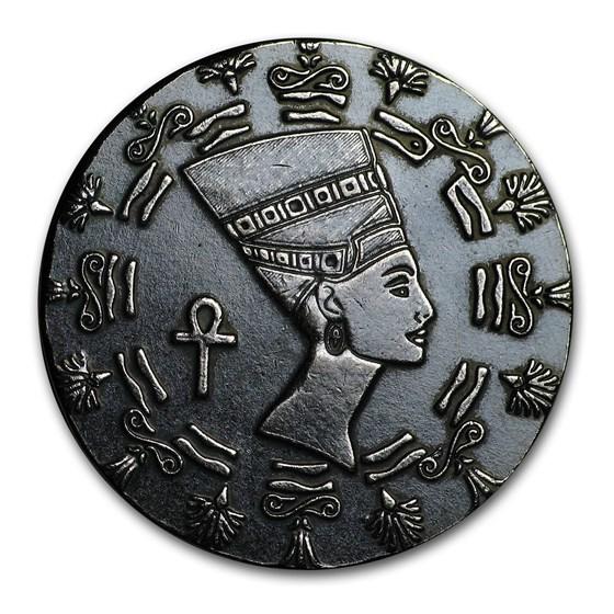 1/10 oz Silver Relic Round - Queen Nefertiti