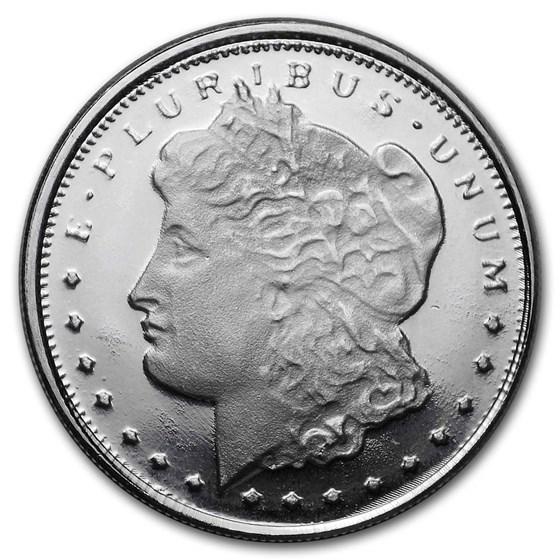 1/10 oz Silver Round - Morgan Dollar Design
