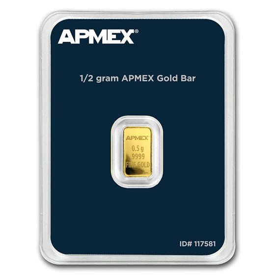 1/2 gram Gold Bar - APMEX (In TEP)