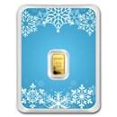 1/2 gram Gold Bar - APMEX (Snowflake, In TEP Package)