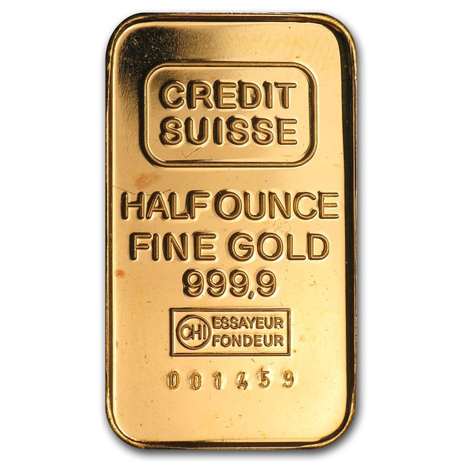 1/2 oz Gold Bar - Secondary Market