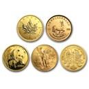 1/2 oz Gold Coin - Random Mint