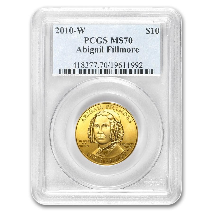 1/2 oz Gold First Spouse Coins MS-70 PCGS (Random Year)