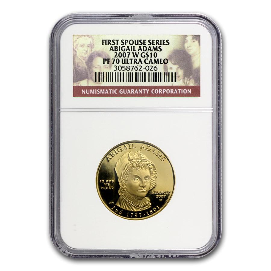 1/2 oz Gold First Spouse Coins PF-70 NGC (Random)