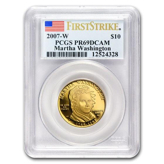 1/2 oz Gold First Spouse Coins PR-69 PCGS (Random Year)