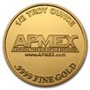 1/2 oz Gold Round - APMEX