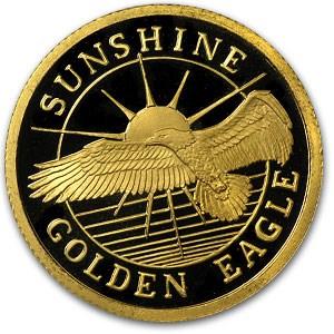 1/2 oz Gold Round - Sunshine Minting/Mining (Golden Eagle)
