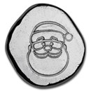 1/2 oz Hand Poured Lucky Pieces - 9Fine Mint (Santa Claus)