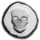 1/2 oz Hand Poured Lucky Pieces - 9Fine Mint (Skull, Type l)