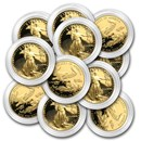 1/2 oz Proof American Gold Eagle (Random, Capsule Only)
