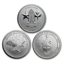 1/2 oz Silver Coin - Random Mint