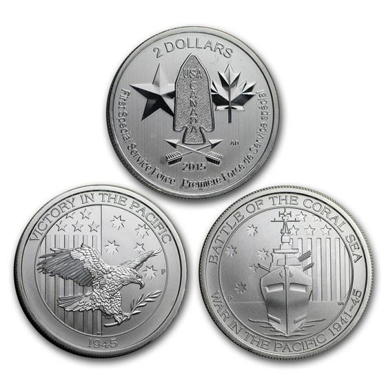 1/2 oz Silver Coin - Random Mint