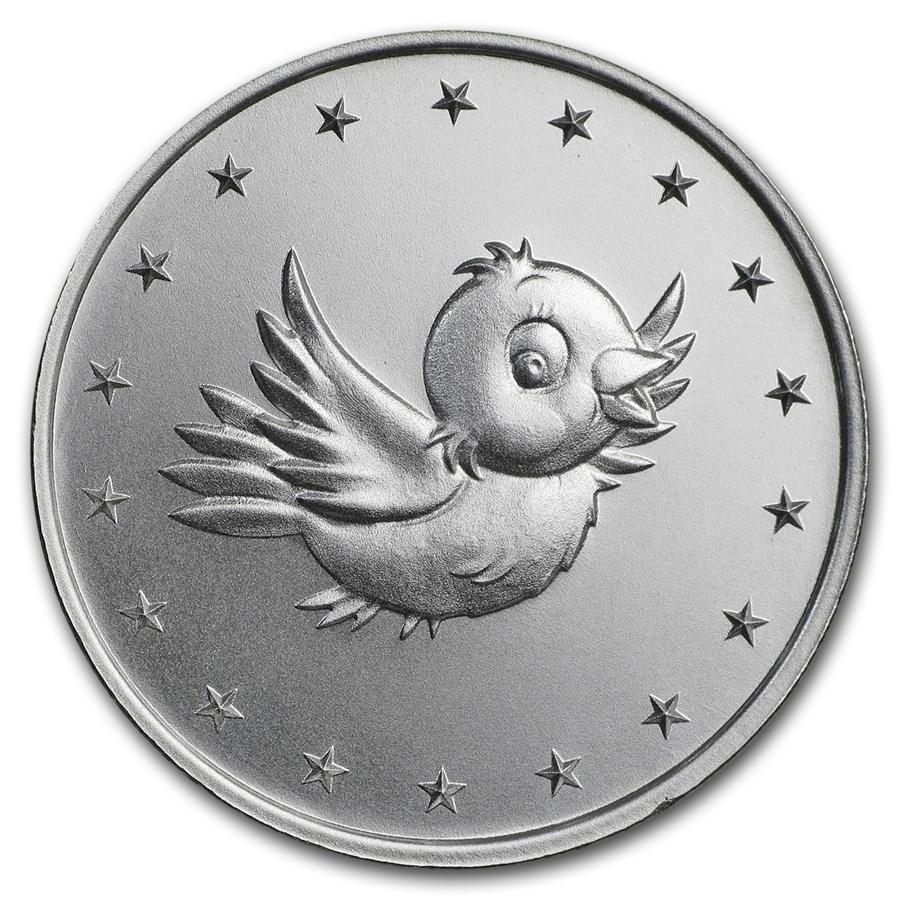 """1/2 oz Silver Round - Mint Markers® """"Birdie"""""""