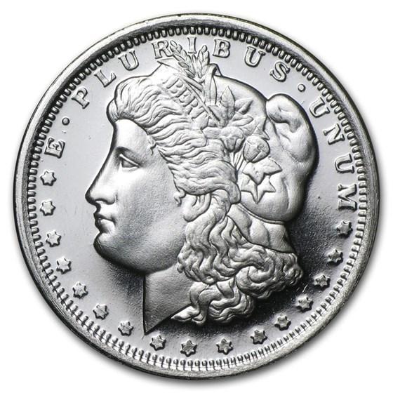 1/2 oz Silver Round - Morgan Dollar Design