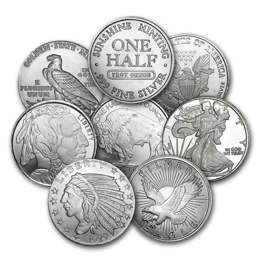 1/2 oz Silver Round - Secondary Market
