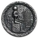 1/2 oz Silver UHR Relic Round - Egyptian Cat Goddess Bastet