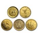1/20 oz Gold Coin - Random Mint