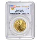 1/4 oz American Gold Eagle MS-69 PCGS (Random Year)