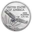 1/4 oz American Platinum Eagle BU (Random Year)