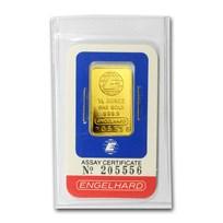 1/4 oz Gold Bar - Engelhard (In Assay)