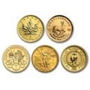 1/4 oz Gold Coin - Random Mint