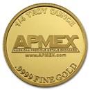 1/4 oz Gold Round - APMEX