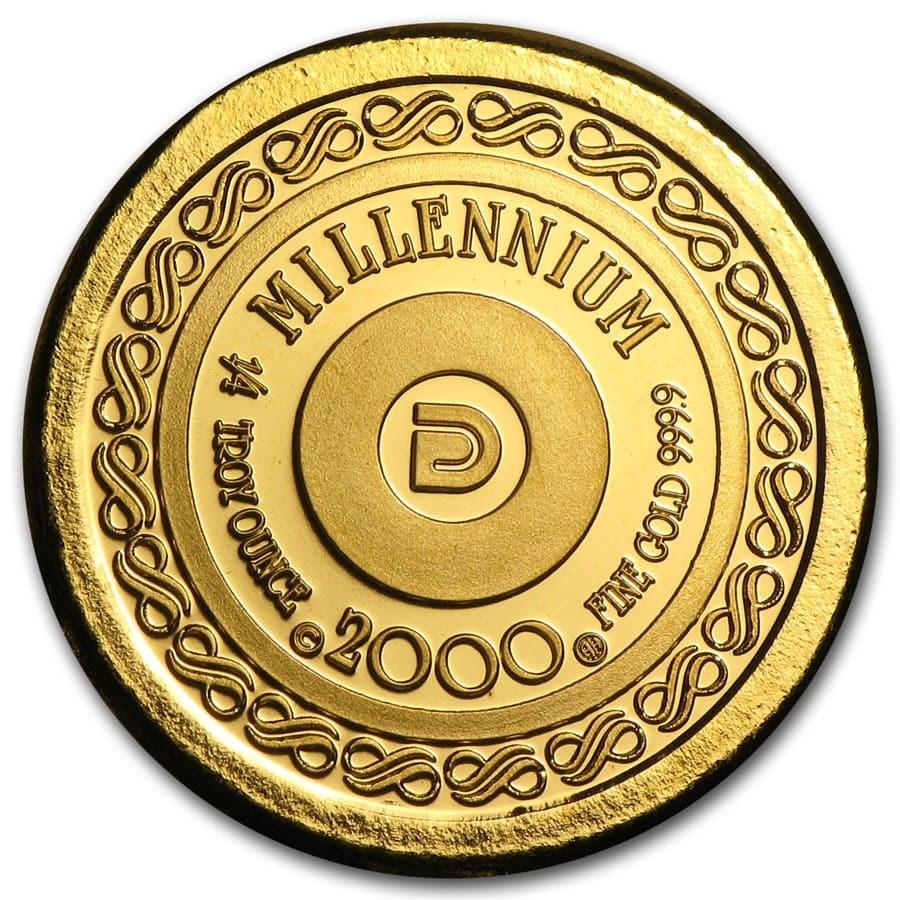 1/4 oz Gold Round - Secondary Market
