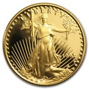1/4 oz Proof American Gold Eagle (Random Year, Capsule Only)