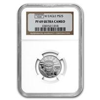 1/4 oz Proof American Platinum Eagle PR/PF-69 PCGS/NGC (Random)