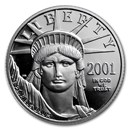 1/4 oz Proof American Platinum Eagle (Random Year, Capsule Only)