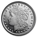 1/4 oz Silver Round - Morgan Dollar Design