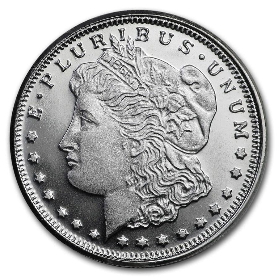 1/4 oz Silver Round - Morgan Dollar Design