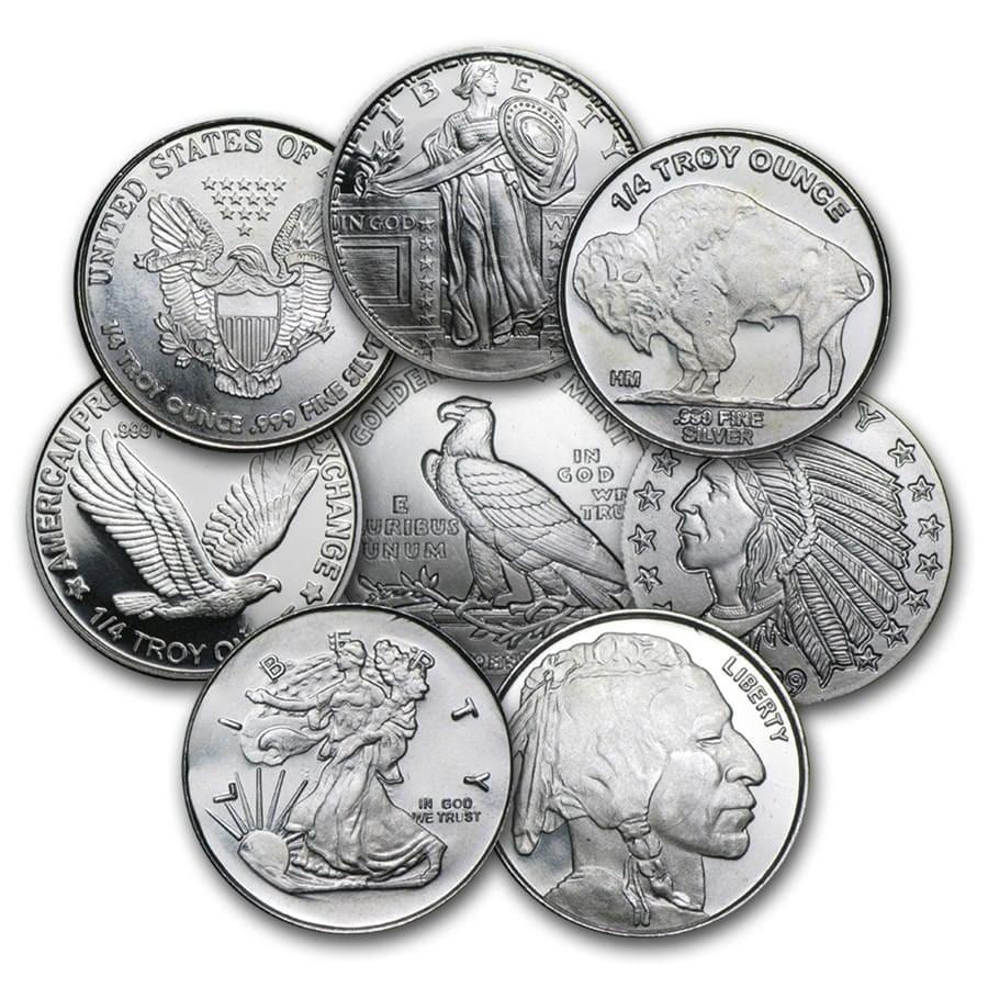 1/4 oz Silver Round - Secondary Market