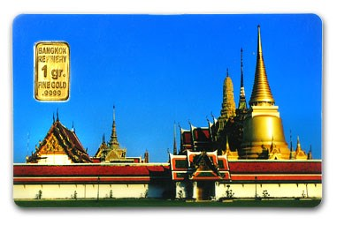 1 gram Gold Bar - Bangkok Refinery (In Assay)