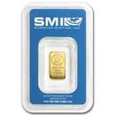 1 gram Gold Bar - Sunshine Minting New Design (In TEP Packaging)