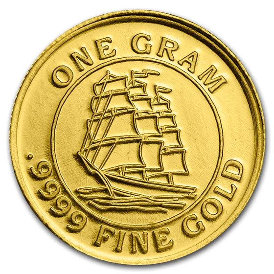 1 gram Gold Round - Secondary Market